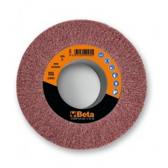 Ruote in tessuto non tessuto abrasivo con foro Tessuto in fibre sintetiche al corindone - BetaABRASIVES 11320
