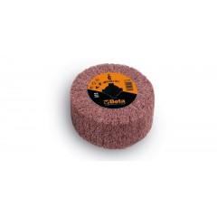 Ruote in tessuto non tessuto in fibre sintetiche al corindone per satinatrici - BetaABRASIVES 11415A