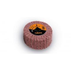 Ruote miste lamelle/tessuto non tessuto per satinatrici In tela abrasiva alternata a fibre sintetiche... - BetaABRASIVES 11420A