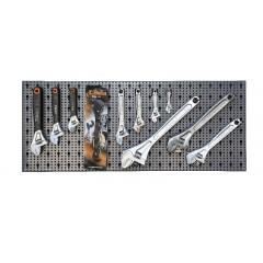 Assortimento 37 utensili, con ganci senza pannello - SHOPinShop 6600 M/33
