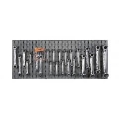Assortimento di 65 utensili, con ganci senza pannello - SHOPinShop 6600 M/42