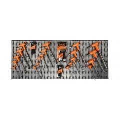 Assortimento di 176 utensili con ganci senza pannello - SHOPinShop 6600 M/52