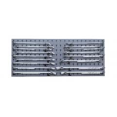Assortimento 71 utensili, con ganci senza pannello - SHOPinShop 6600 M/61