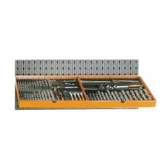 Assortimento 306 utensili, con ganci senza pannello - SHOPinShop 6600 M/116