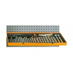 Assortimento 163 utensili, con ganci senza pannello - SHOPinShop 6600 M/120