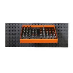 Assortimento 58 utensili, con ganci senza pannello - SHOPinShop 6600 M/126