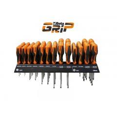 Espositore da parete con 78 giravite - SHOPinShop 1263/E78