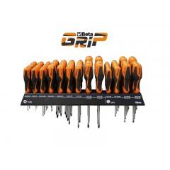 Espositore da parete con 74 giravite - SHOPinShop 1263/E74