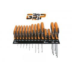 Espositore da parete con 85 giravite - SHOPinShop 1263/E85