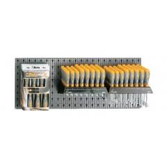 Assortimento 98 utensili, con ganci senza pannello - SHOPinShop 6600 M/320