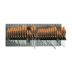 Assortimento 155 utensili, con ganci senza pannello - SHOPinShop 6600 M/326