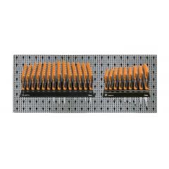 Assortimento 101 utensili, con ganci senza pannello - SHOPinShop 6600 M/327