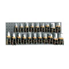 Assortimento di 80 utensili con ganci senza pannello - SHOPinShop 6600 M/216