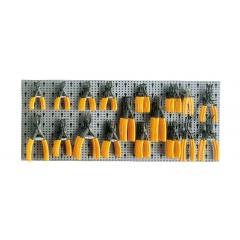 Assortimento 78 utensili, con ganci senza pannello - SHOPinShop 6600 M/230