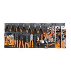 Assortimento 67 utensili, con ganci senza pannello - SHOPinShop 6600 M/608