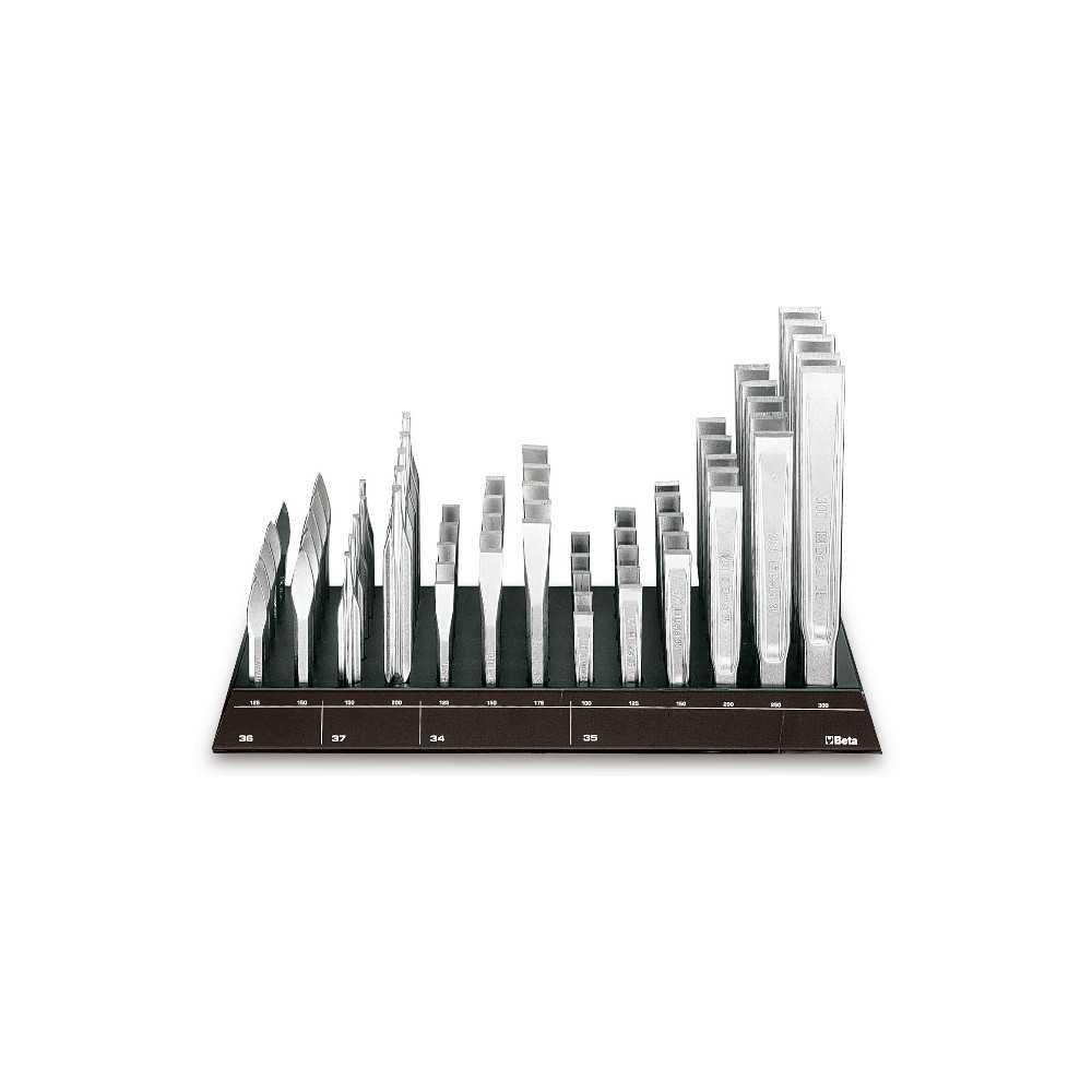 Espositore da parete con 65 utensili a percussione - SHOPinShop 38/DS2