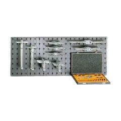 Assortimento 60 utensili, con ganci senza pannello - SHOPinShop 6600 M/561
