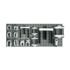 Assortimento 28 utensili, con ganci senza pannello - SHOPinShop 6600 M/650