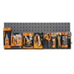 Assortimento 51 utensili, con ganci senza pannello - SHOPinShop 6600 M/534
