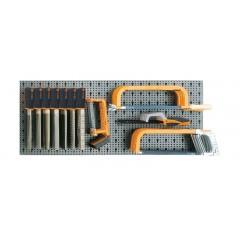 Assortimento di 53 utensili, con ganci senza pannello - SHOPinShop 6600 M/542