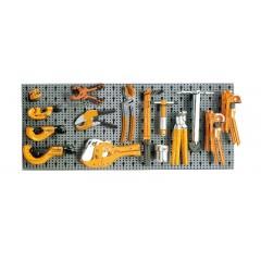 Assortimento 36 utensili, con ganci senza pannello - SHOPinShop 6600 M/465