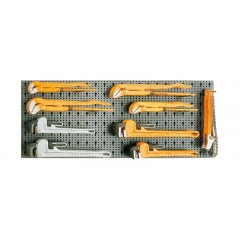 Assortimento 18 utensili, con ganci senza pannello - SHOPinShop 6600 M/480