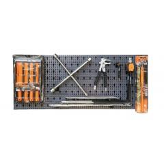 Assortimento 25 utensili, con ganci senza pannello - SHOPinShop 6600 M/813