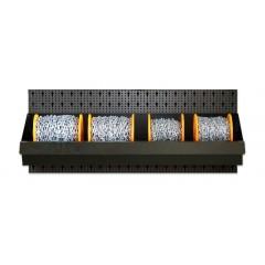 Assortimento 11 bobine catena genovese con vasca espositiva - SHOPinShop 8600 R/511
