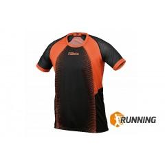 Camisola de secagem rápida e tecido respirável, com insersões laterais de malha - Beta 9515M