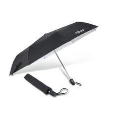 Guarda-chuva, nylon T210, 3 secções, estrutura em alumínio, preto, mecanismo automático de abertura/fecho - Beta 9521
