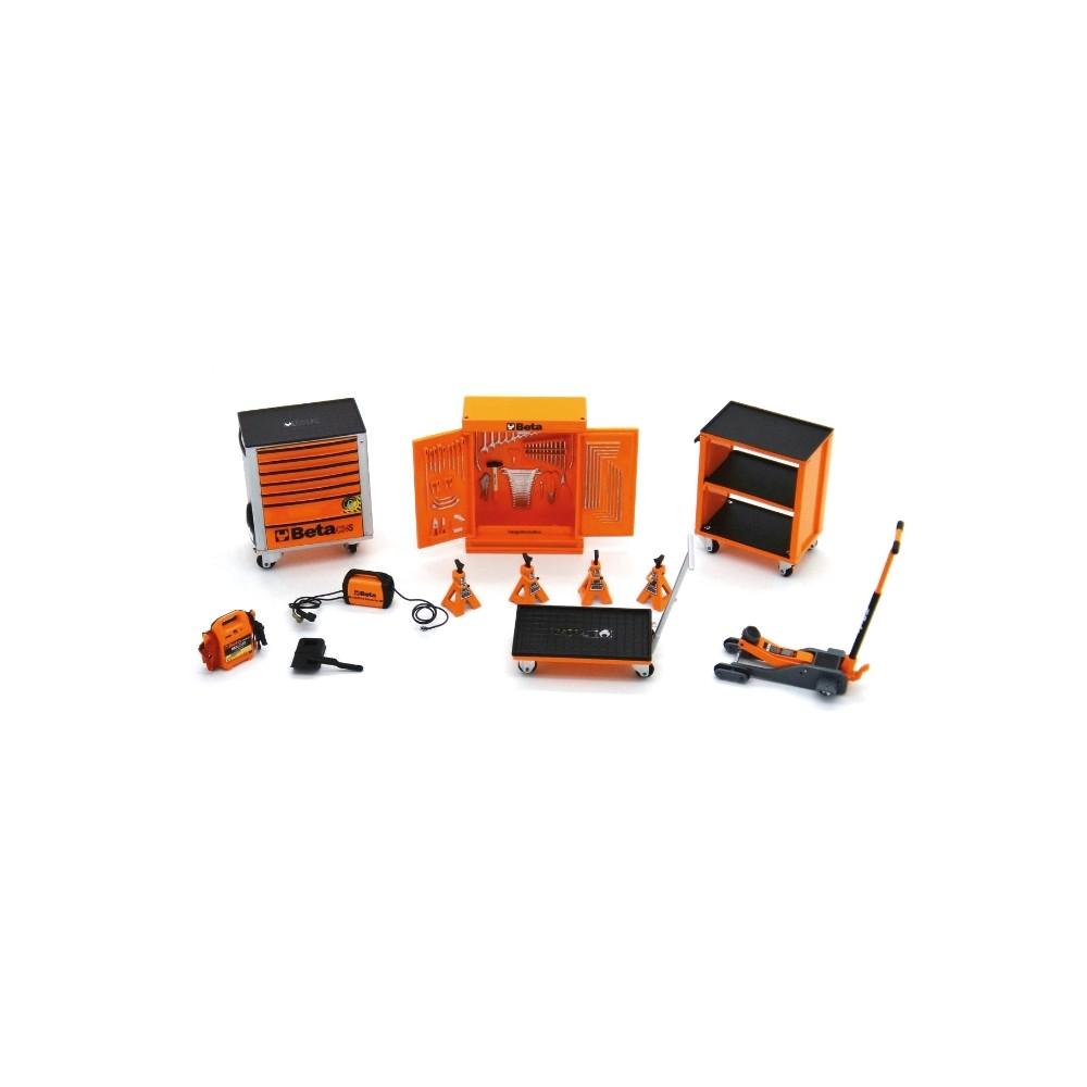 Garage Beta in miniatura per collezionisti - BETACollection 9524SC
