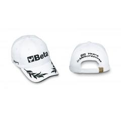 Cappellino, 100% cotone, taglia unica regolabile, ricamo diretto sul frontale, sui lati e sul retro,... - BETACollection 9525/B