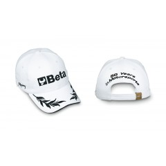 9525 /B-CAP ADJUSTAB. BUCKLE STRAP WHITE