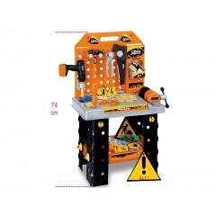 """Zabawka """"Warsztat"""", stół warsztatowy z narzędziami, dla dzieci od 3 lat - Beta 9547WSK"""