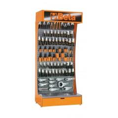 Assortimento di 313 utensili con ganci senza espositore - SHOPinShop 6600 E/C10