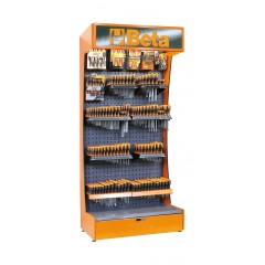 Assortimento di 597 utensili con ganci senza espositore - SHOPinShop 6600 E/B20
