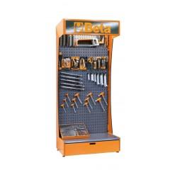 Assortimento di 377 utensili con ganci senza espositore - SHOPinShop 6600 E/K20