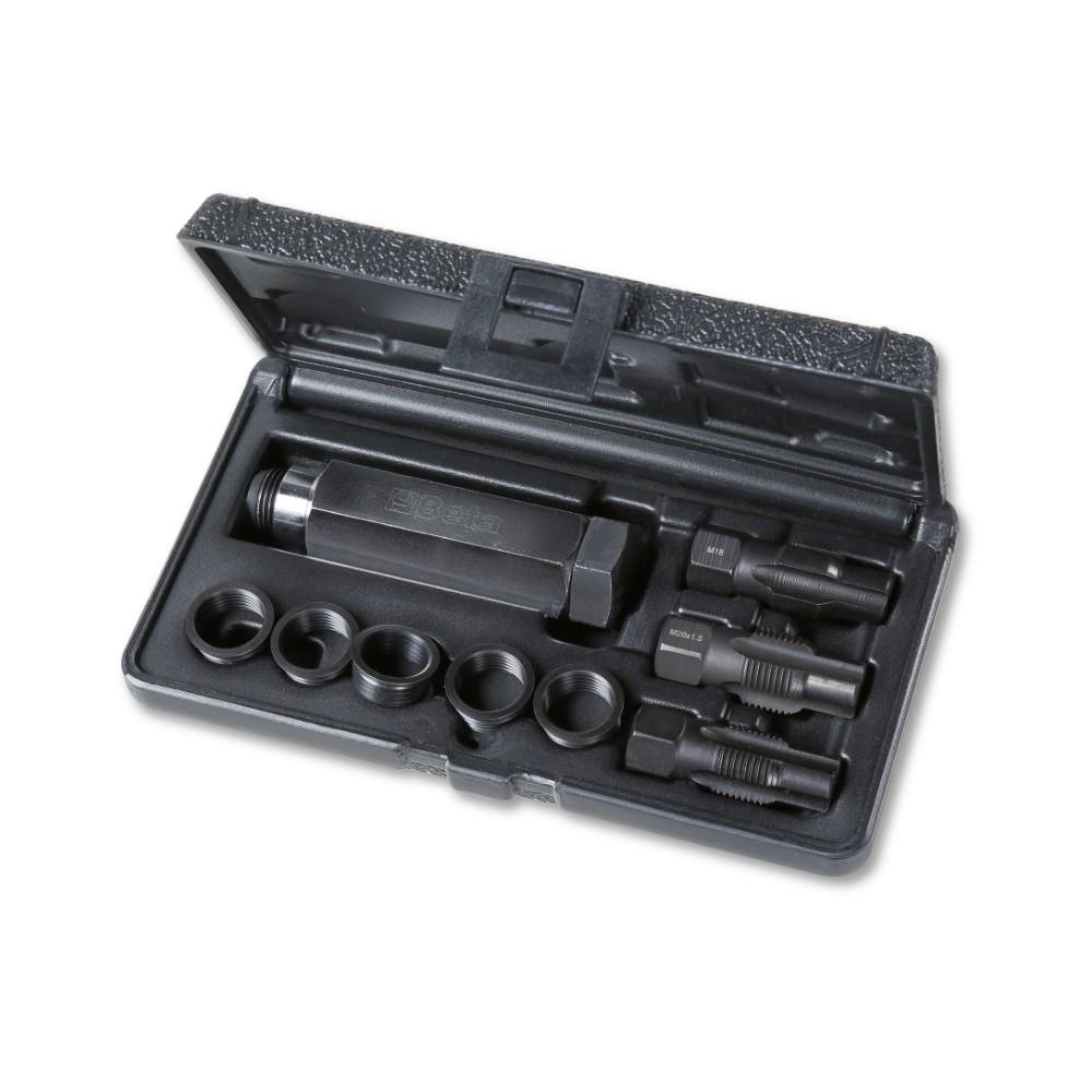 Kit de réparation des filetages endommagées des capteurs oxygène M18x1,5 - Beta 437K/10