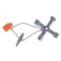 Four-way wrench for control panel operators - Beta 1600Q 8