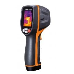 Infravörös hőkamera Kompakt hőkamera érintésmentes hőmérséklet méréshez, alkalmazható az építőiparban, mechanikus, elektromos és