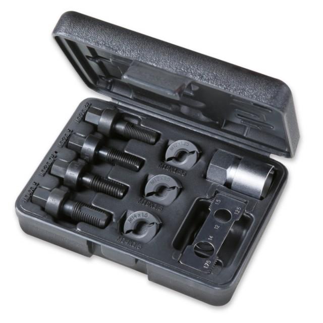 Assortimento per ripristino filettature maschio e femmina, viti fissaggio ruote - Beta 437K/9