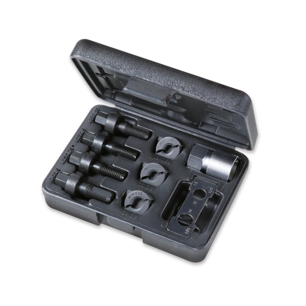 Tool assortment for repairing male and female threads, wheel fixing screws - Beta 437K/9