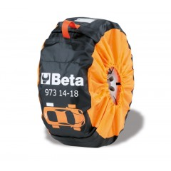 Kit of 4 nylon wheel covers - Beta 973