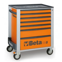 Mobile roller cab with seven drawers - Beta C24S/7