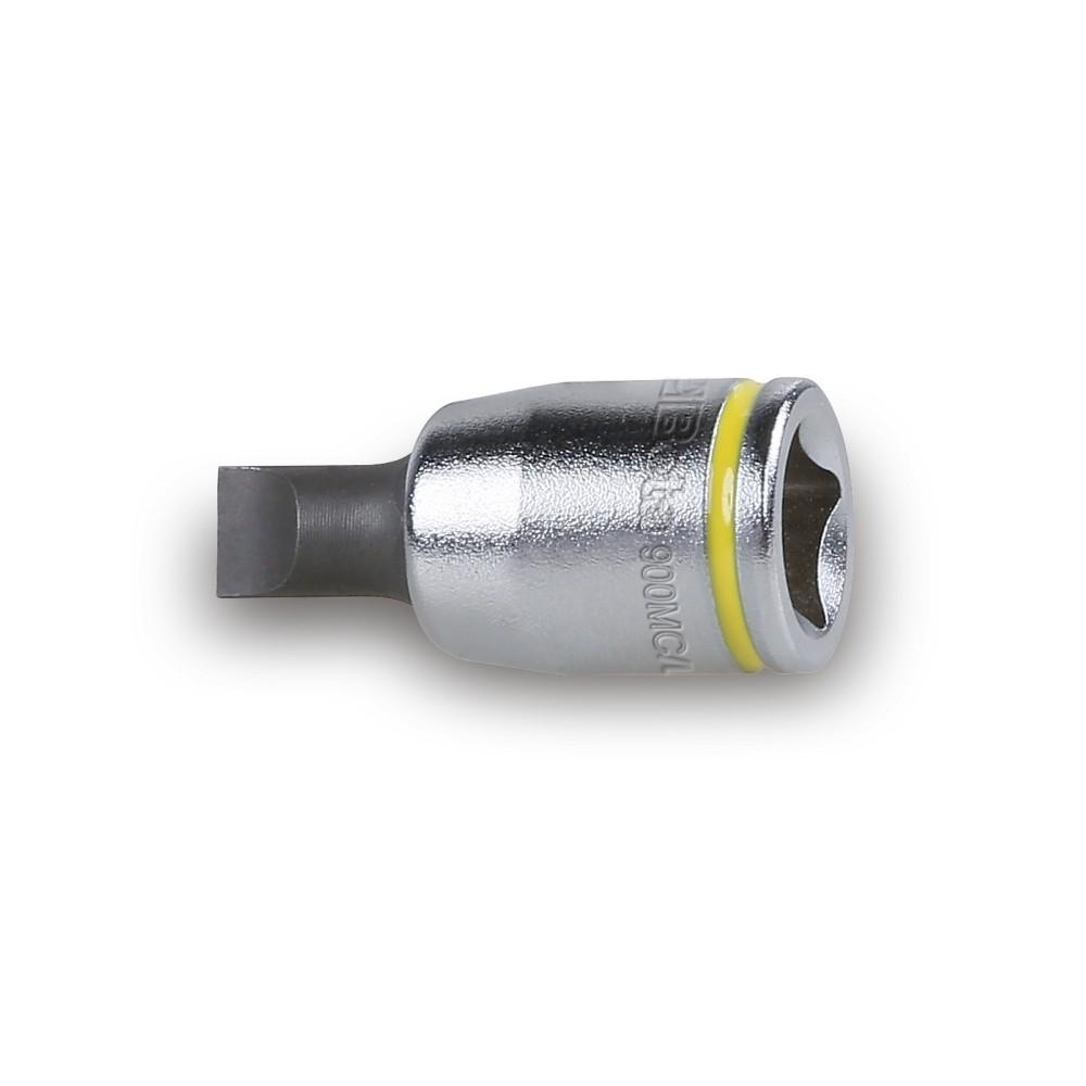 Chiavi a bussola a giravite per viti con intaglio colorate cromate - inserti bruniti - Beta 900MC/LP