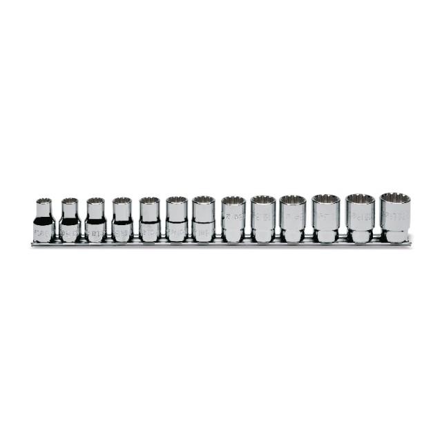 """1/2""""-os multifunkciós imbusz dugókulcs készlet, krómozott - Beta 920U/SB13"""
