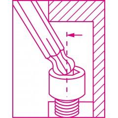 Set of 8 coloured ball head offset key wrenches, for Torx® head screws - Beta 97BTX-C/SC8