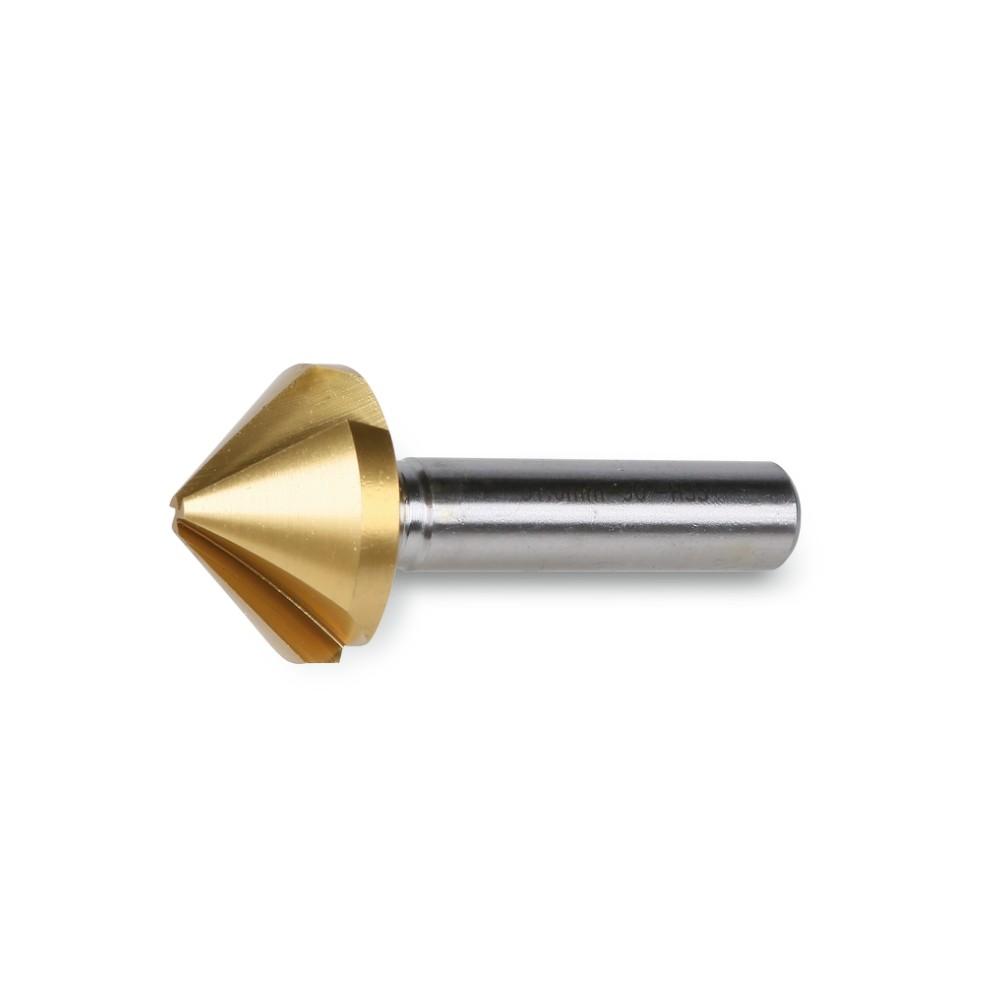 Frese a svasare ed incassare a tre taglienti in acciaio HSS + TiN - Beta 426T