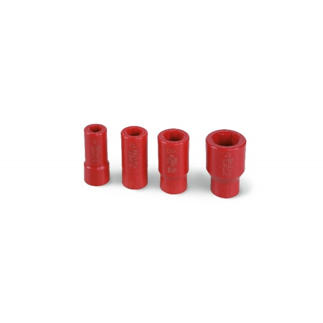 """Set of hexagon hand sockets, 3/8"""" female drive, made from special polyamide-based technopolymers - Beta 914MQ-A/S4"""