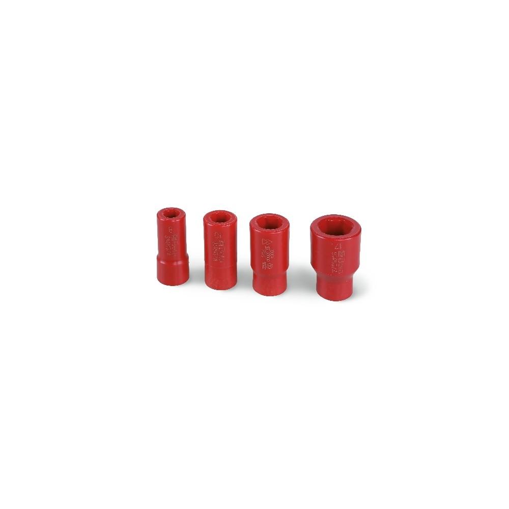 """Hatszögű dugókulcs készlet, 3/8""""-os, különleges poliamid-alapú technopolimerből - Beta 914MQ-A/S4"""
